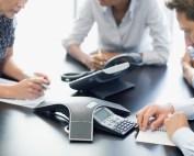 riunioni in conference call consulenti