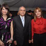 Gerty Valerio, Manuel Quiroz y Nuria Piera