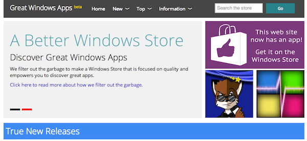 Great Windows Apps