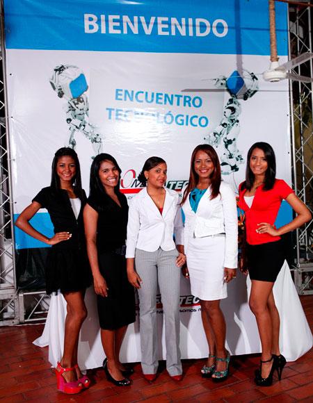 Ailin Jiménez, Cleidy Sabala, Ana Victoria Delgado, Kenia Hernández, Naomi Jiménez
