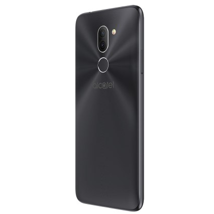 Alcatel-3X_Metallic-Black_Back-Right-(without-CE)