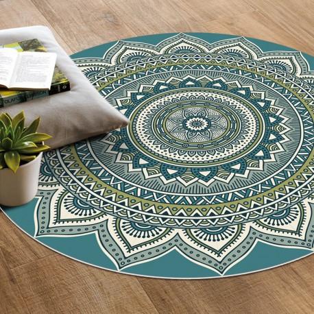 tapis vinyle mandala veracruz