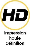 Tapis vinyle impression HD