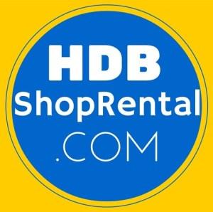 Logo for HDBshoprental.com specialising in HDB shop for rent