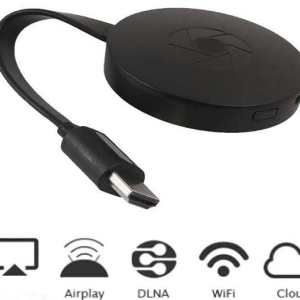 Chromecast / Smartphone Screen Miracast / Anycast G2 Plus (For Samsung/Hauwei/LG/Apple Wifi Screen Duplicate / Mirroring)