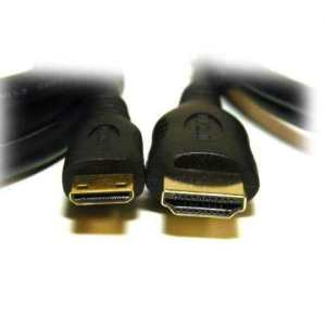 5 Meter MINI HDMI (Type_C) to Standard HDMI (Type A) Cable v1.3a (Gold Plated Connectors)