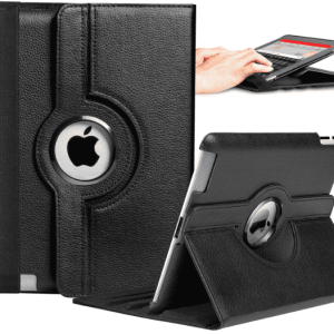 Ipad Mini Case / Cover with 360 Rotation & Stand for Portrait or Landscape Orientation