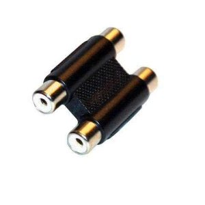 Stereo / Dual RCA Coupler - 2 x Female to RCA Female Coupler / Socket