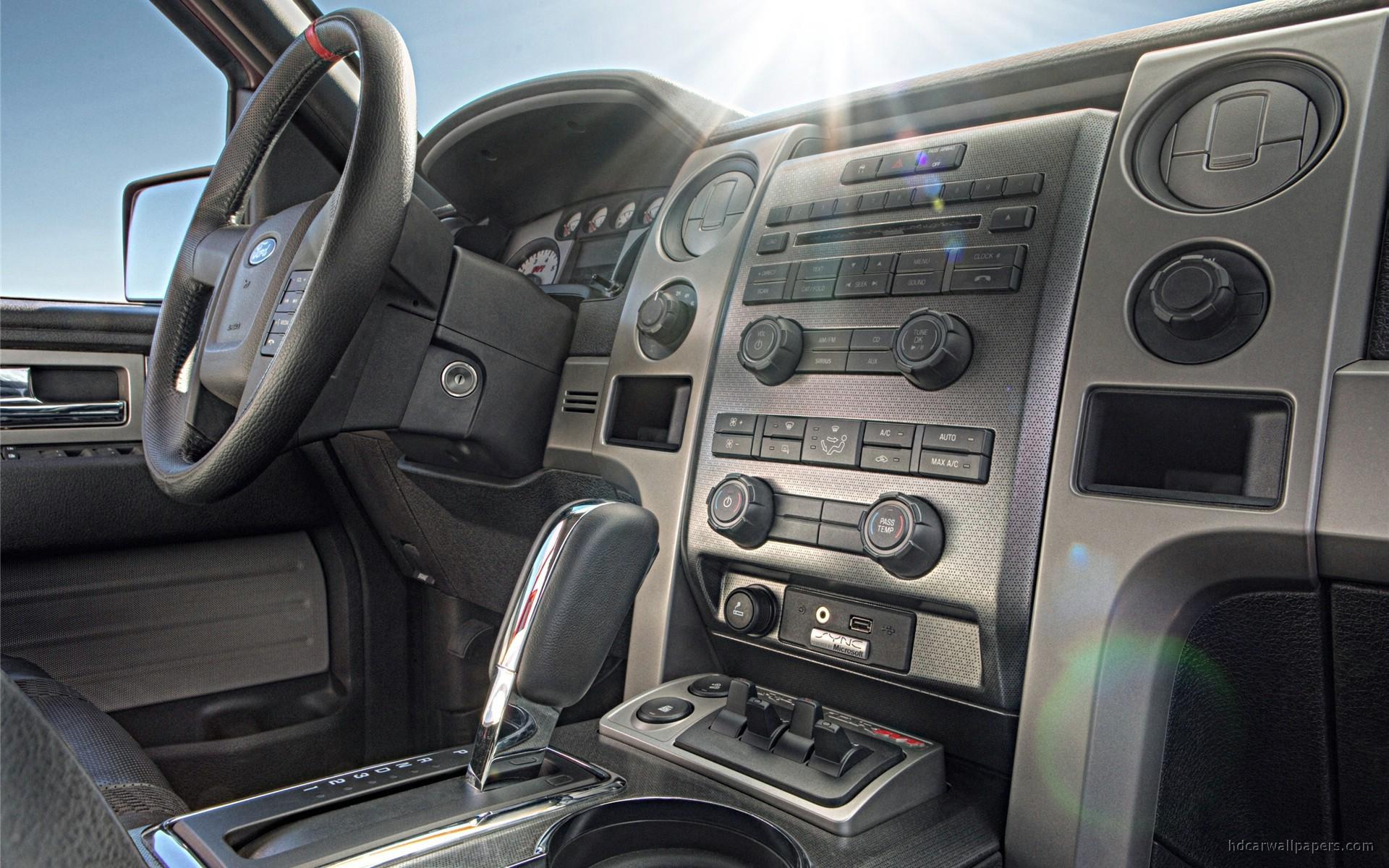 2010 Ford F150 Svt Raptor Interior Wallpaper Hd Car