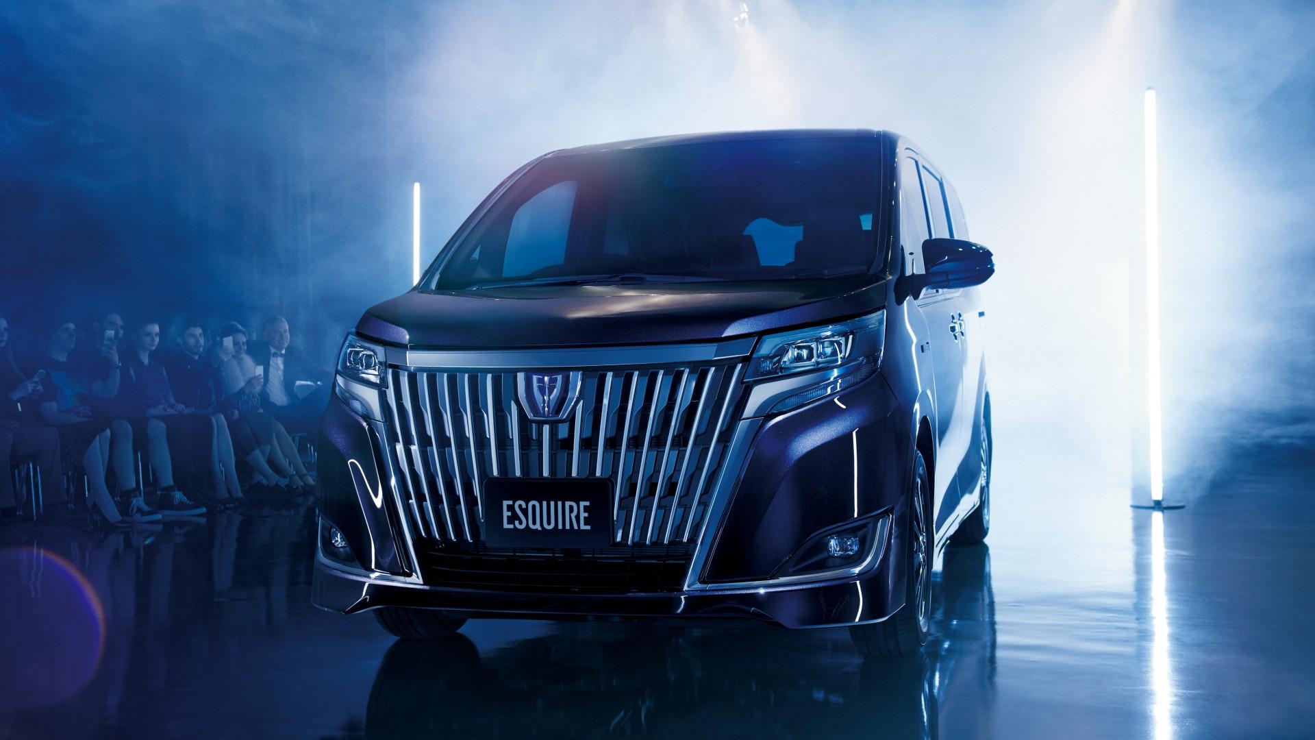 2017 Toyota Esquire Hybrid 4k Wallpaper Hd Car