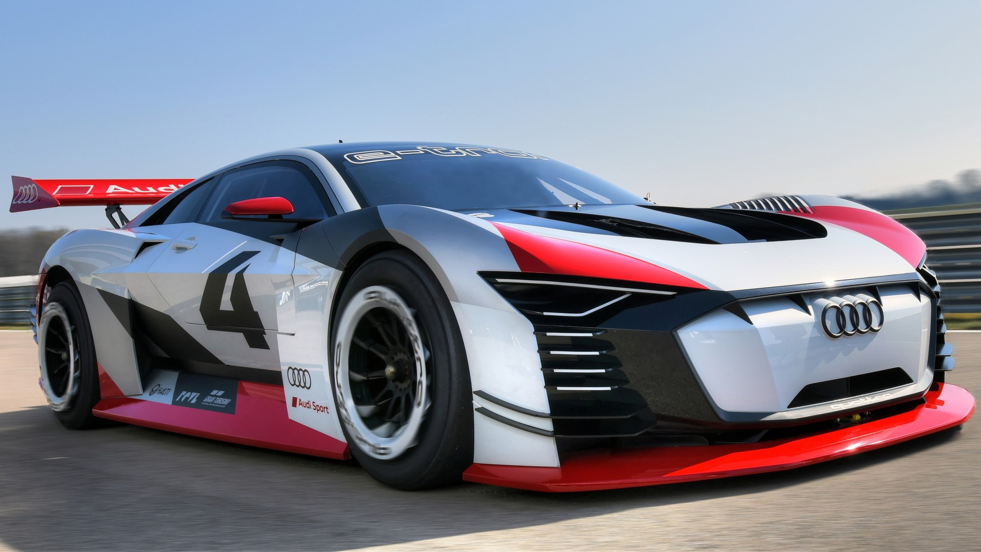2018 Audi E Tron Vision Gran Turismo 4K Wallpaper HD Car