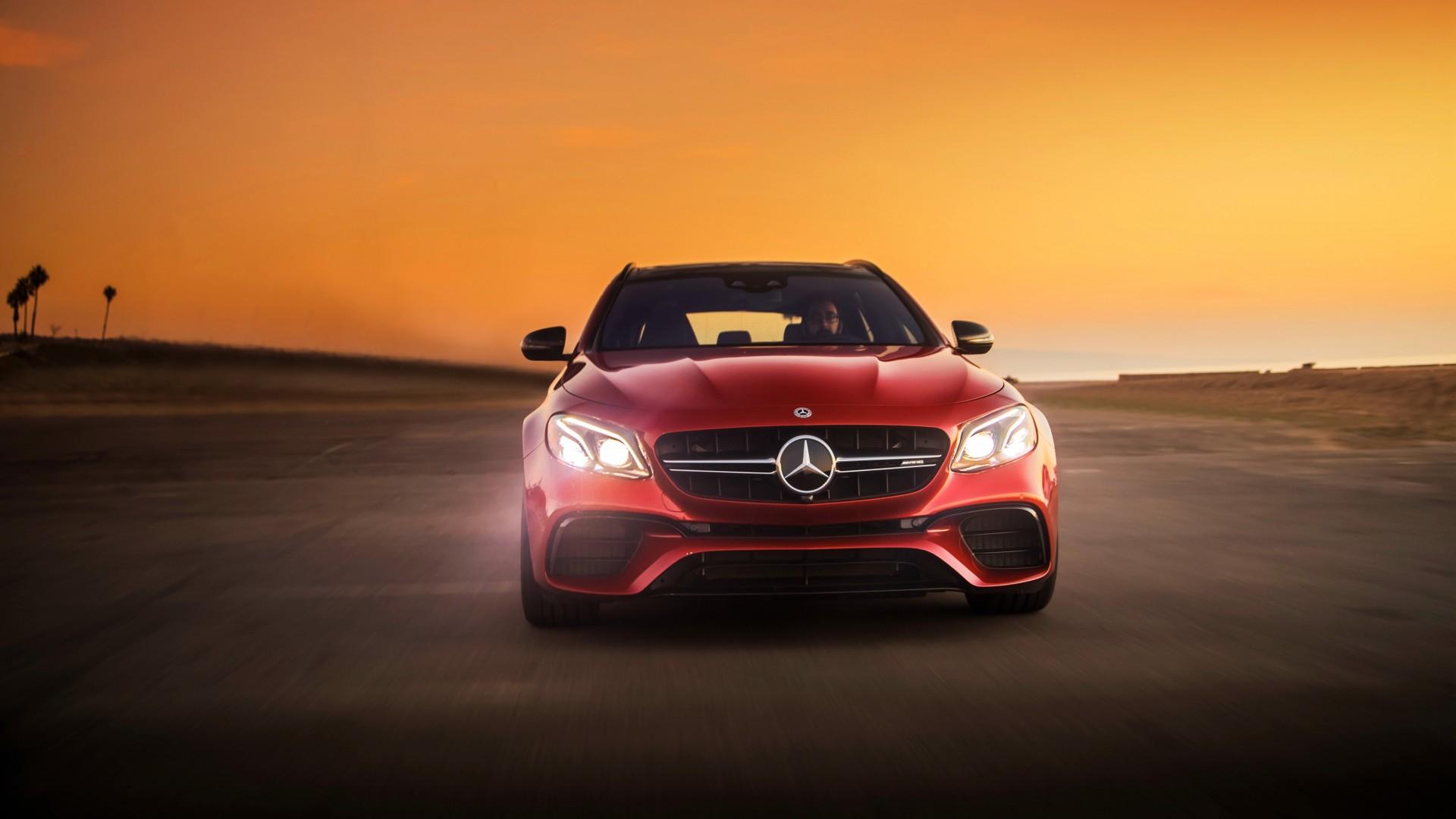 2018 Mercedes AMG E63 S 4MATIC Estate 4K Wallpaper HD