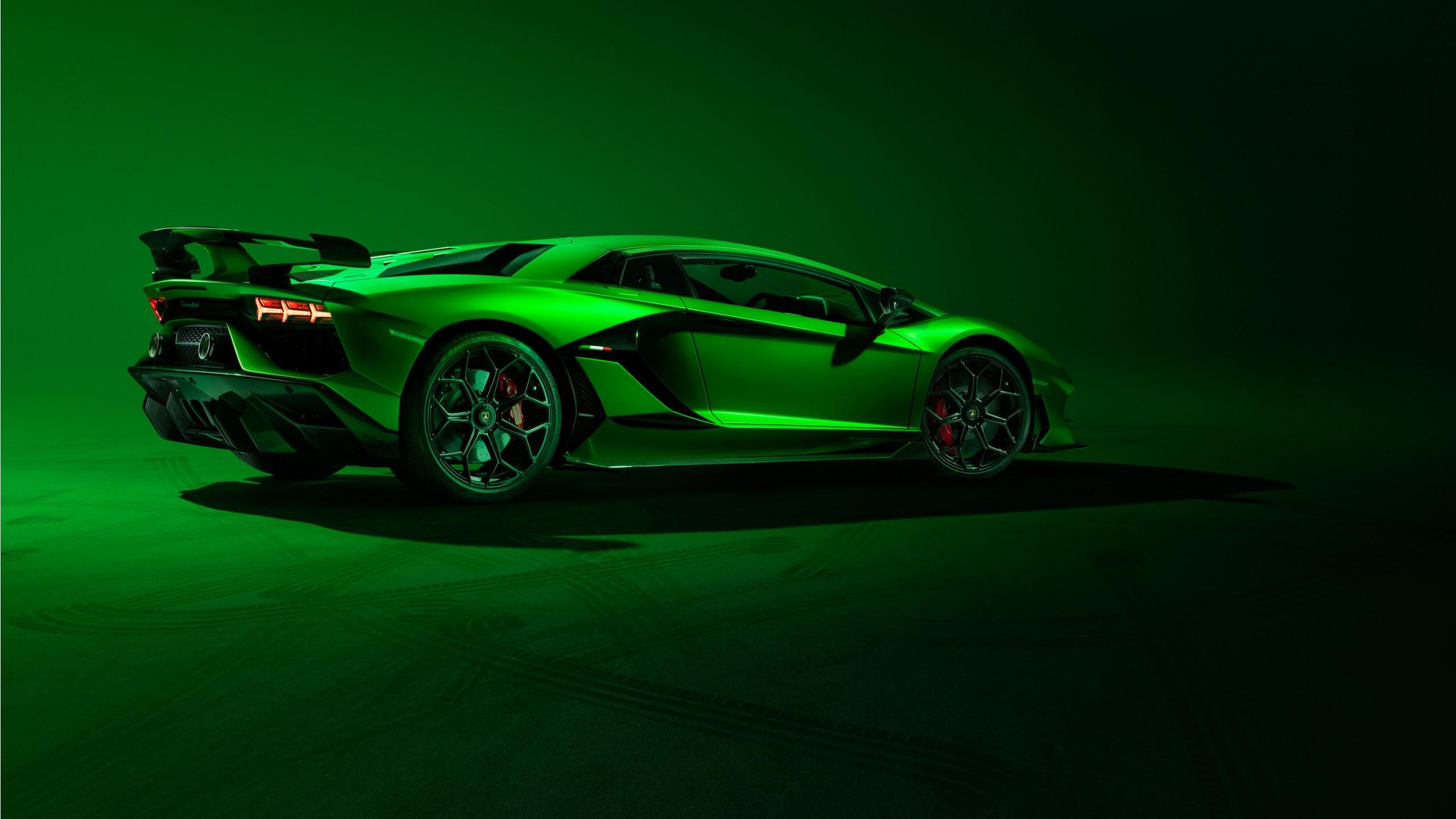 2019 Lamborghini Aventador Svj 3 Wallpaper Hd Car