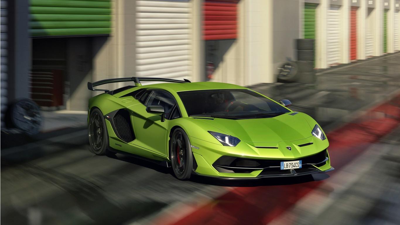 2019 Lamborghini Aventador Svj 4k 5 Wallpaper Hd Car