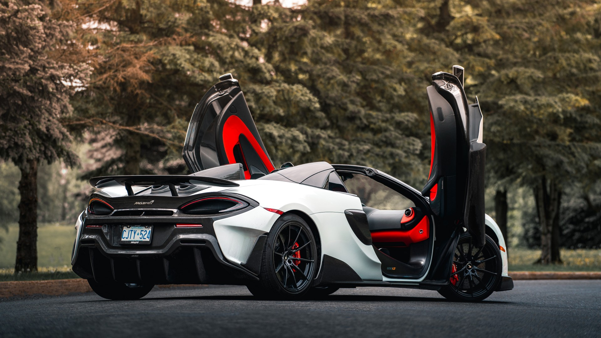 2020 Mclaren 600lt Spider 4k 2 Wallpaper Hd Car