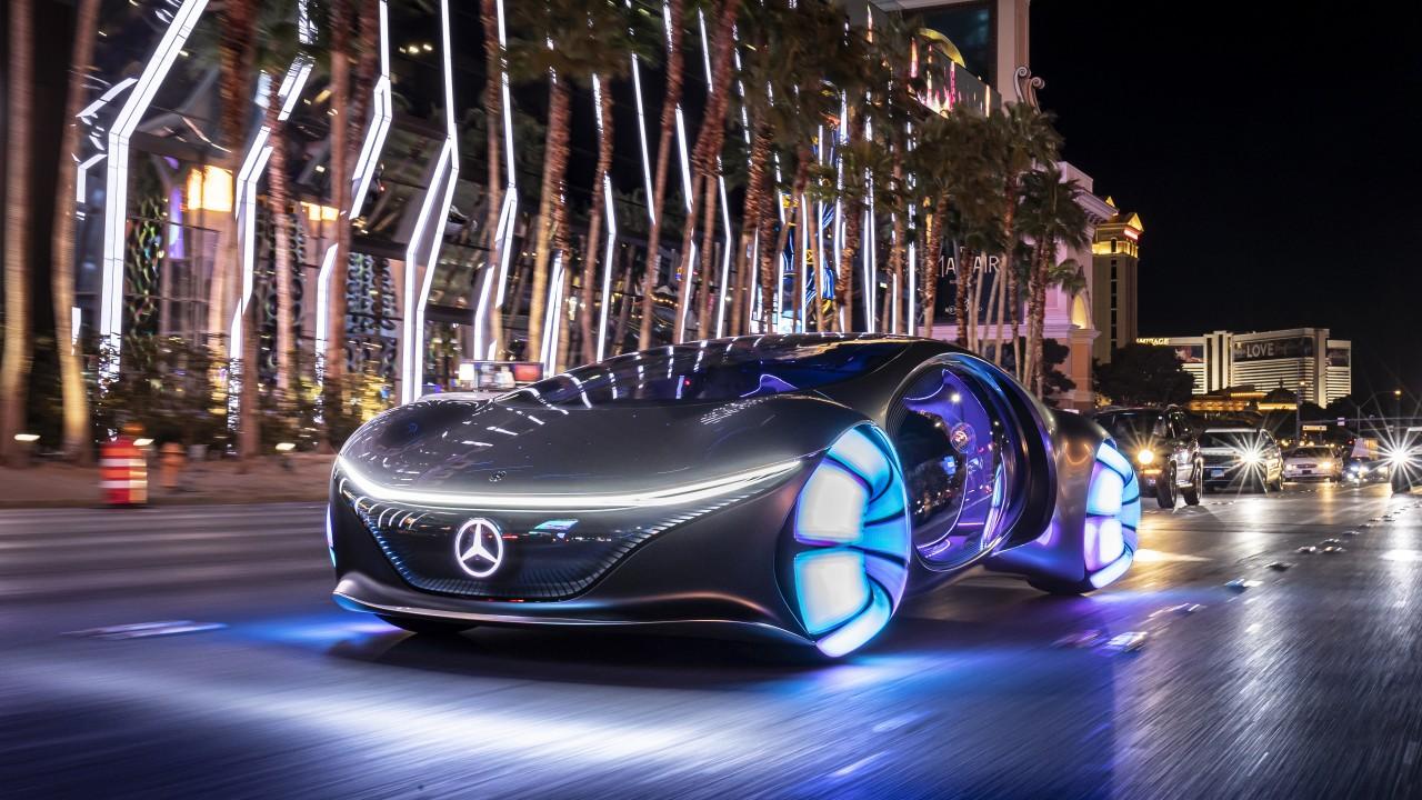 2020 Mercedes Benz Vision Avtr 5k 5 Wallpaper Hd Car