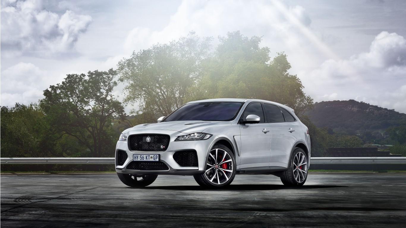 Jaguar F Pace Svr 2019 5k Wallpaper Hd Car Wallpapers