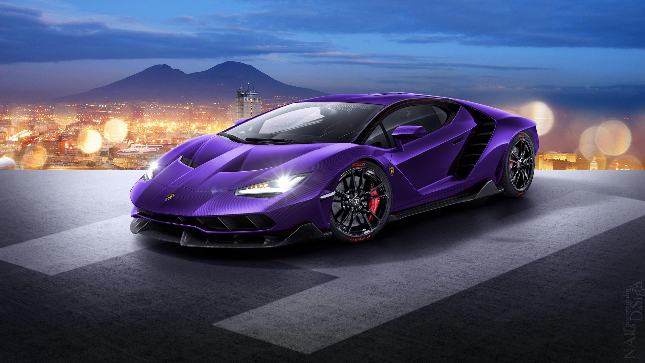 Lamborghini Centenario LP770 4 Wallpaper HD Car