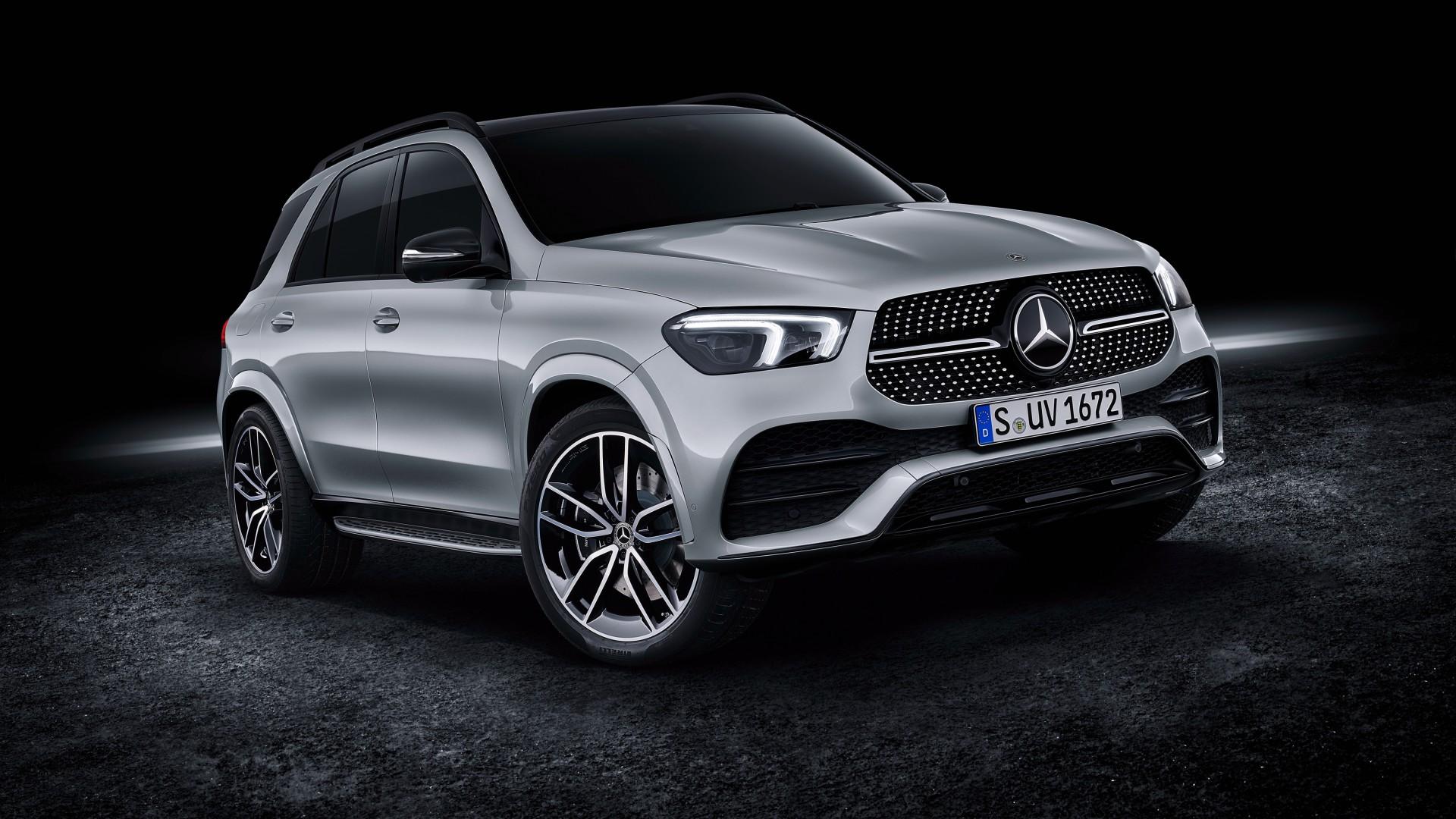 Mercedes Benz GLE 450 4MATIC AMG Line 2019 4K Wallpaper