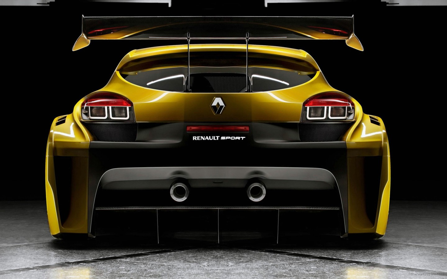 Renault Megane Trophy Back Wallpaper HD Car Wallpapers