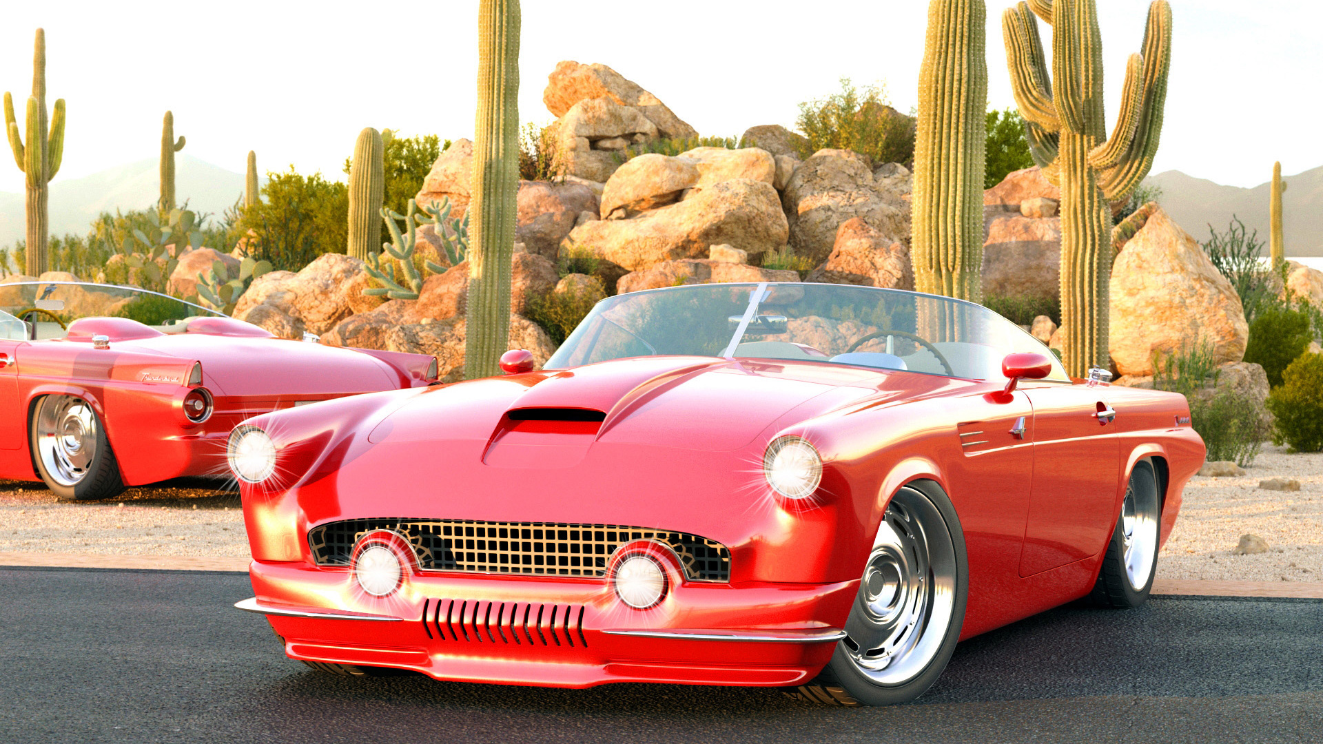 1955 Ford Thunderbird Custom