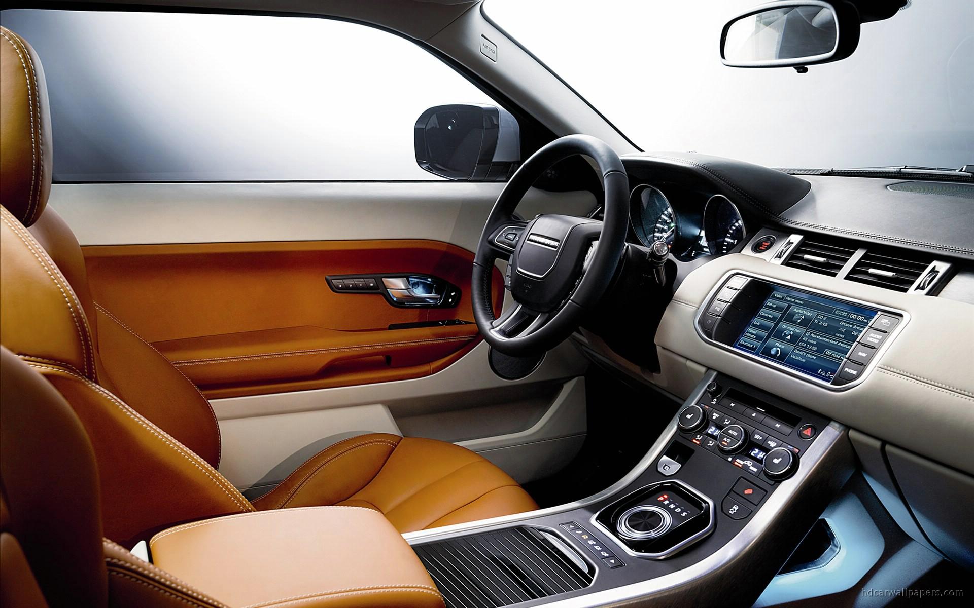 2011 Range Rover Evoque Interior Wallpaper