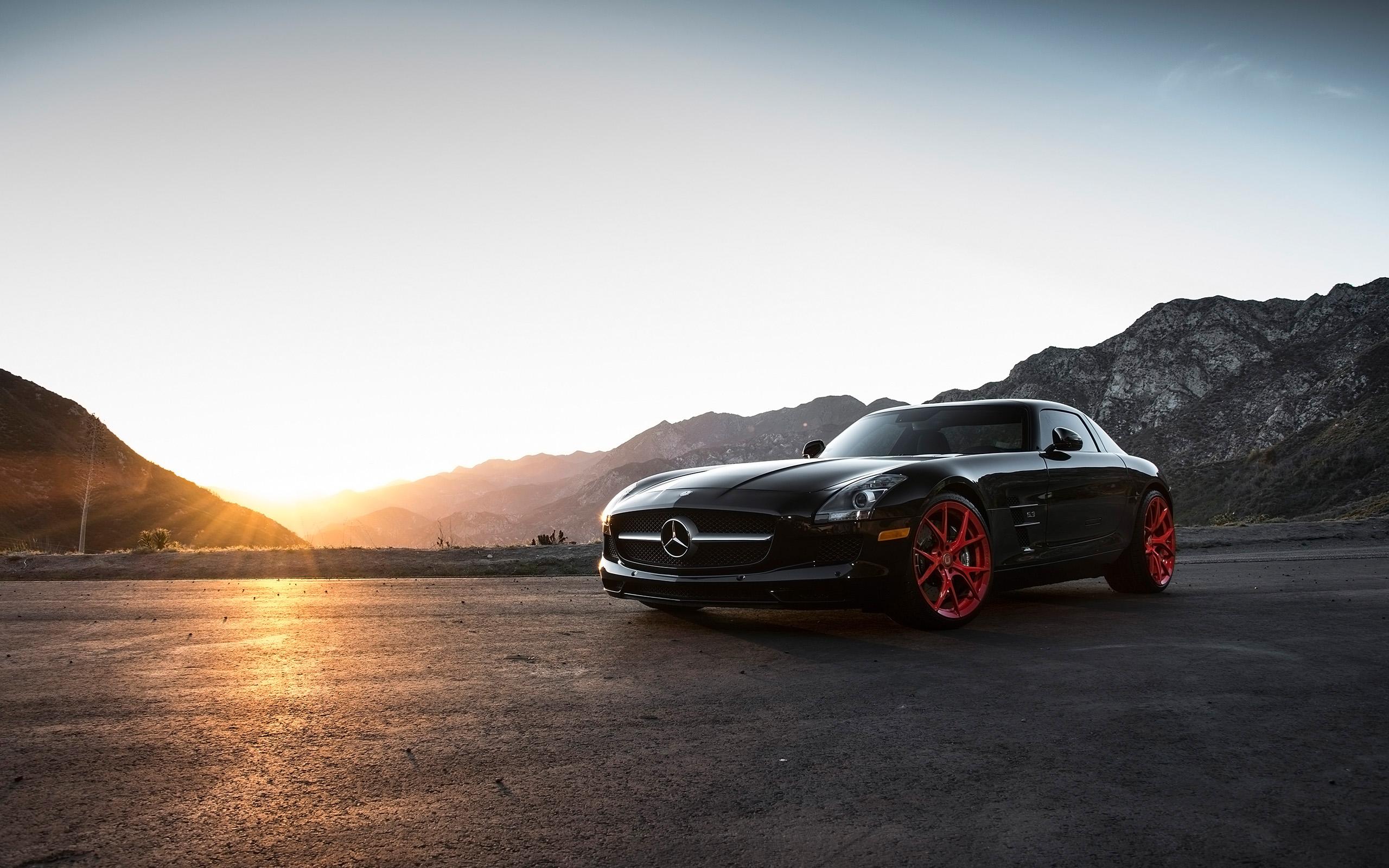 2015 Klassen Mercedes Benz SLS AMG Wallpaper HD Car