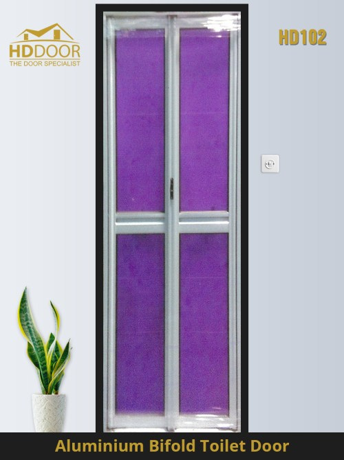 HD102 bifold toilet door