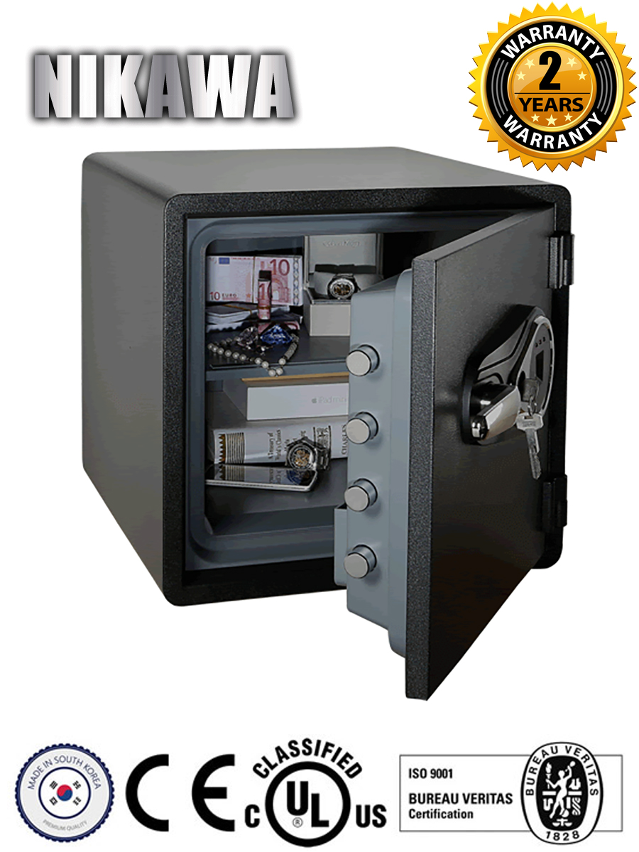 Nikawa SWF Fingerprint Safe 1818F Interior