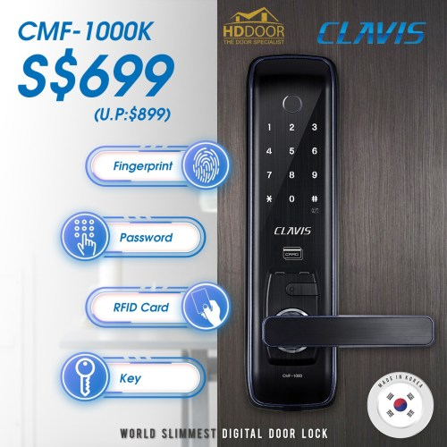 best clavis cmf1000k digital lock singapore