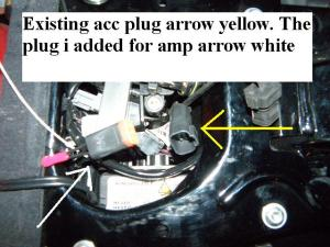 Accessory outlet under the seat?  Harley Davidson Forums