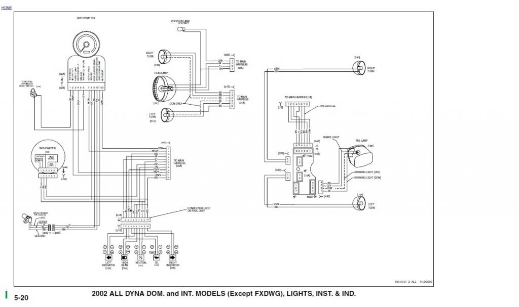 Dyna S Ignition Wiring Schematic Harley Dyna Single Fire