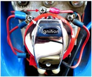 Ignition switch positions  Harley Davidson Forums