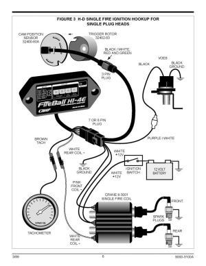 Crane HI4E ignition module wiring details  Harley