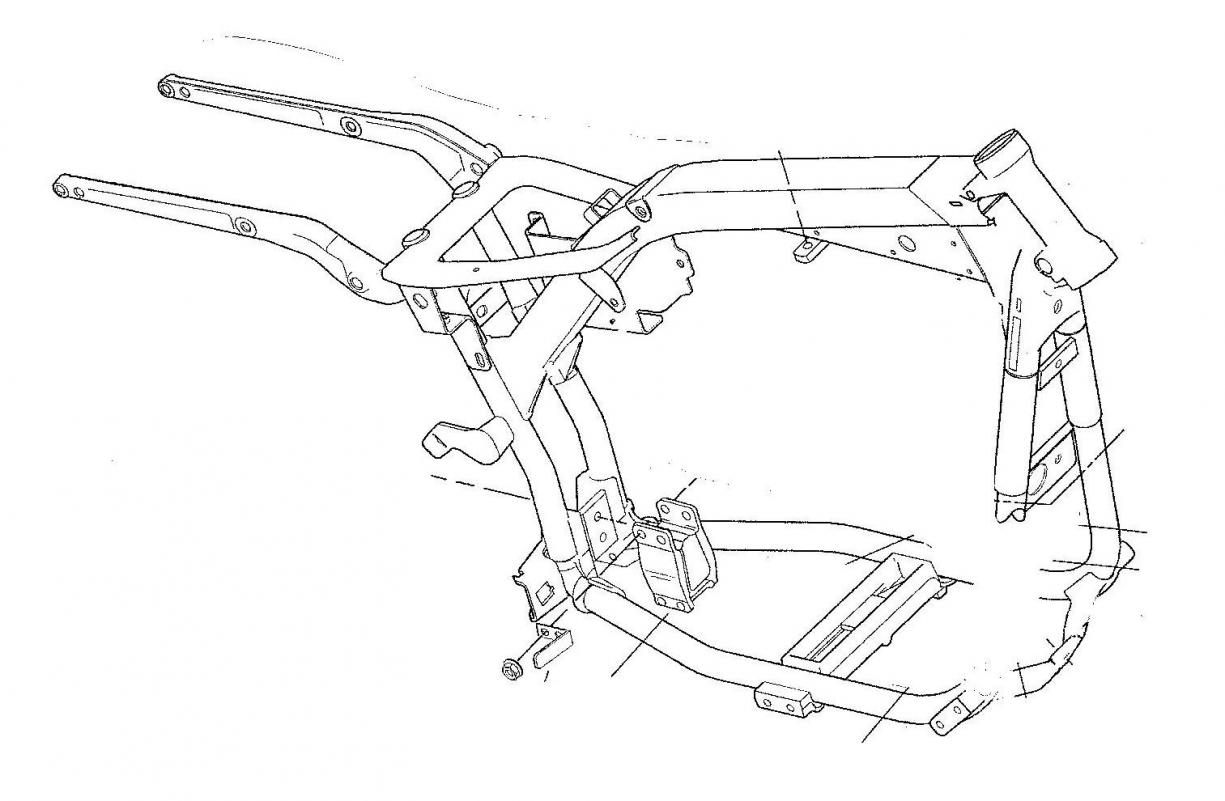Chopper Frame Dimensions