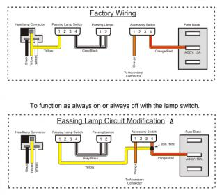 wiring diagram for motorcycle headlight wiring diagram café racer wiring bikebrewers