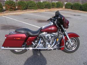 2008 Harley Davidson Street Glide FLHX  Harley Davidson