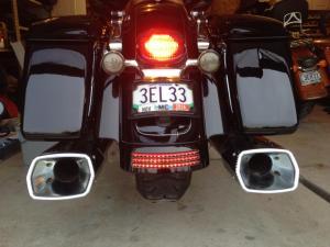 Canadian Tri Bar from Custom Dynamics  Harley Davidson Forums
