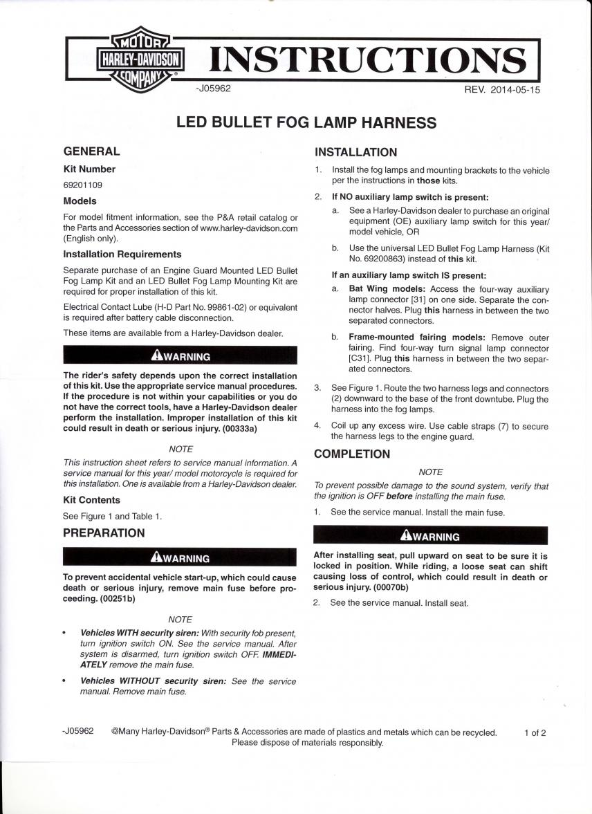 Daymaker Reflector Led Fog Lamps Amp Wiring Harness Page 2 ... on