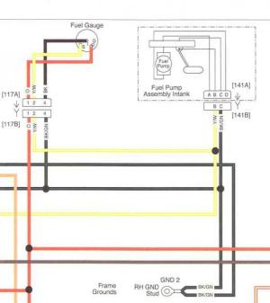 08 fuel sender wiring help  Harley Davidson Forums