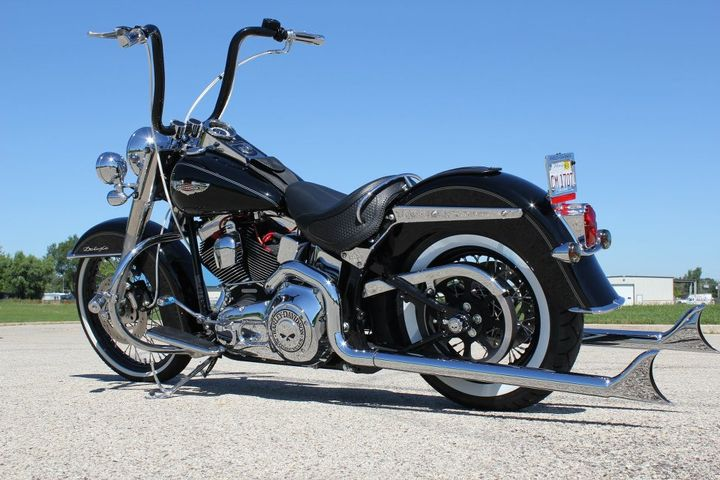 Softail Deluxe With Carlini Apes Google Search Harley - EpicGaming