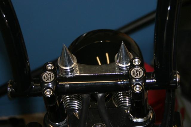 05 Harley Springer Bar Risers