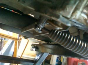 Broke the spring pin for the kickstand  Harley Davidson Forums