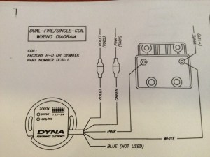 Wiring power to new Dyna 2000i Ing Module  Harley