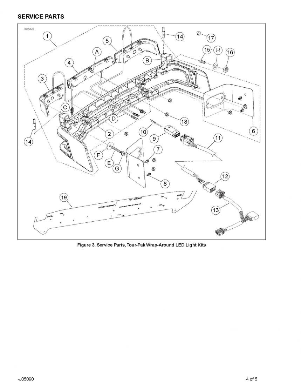 Integrated led tourpak lights with brake signal led tourpack page 4