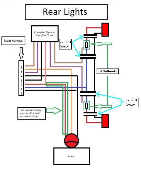 1995 Nissan Pickup Tail Light Wiring Diagram,Pickup.Wiring ... on