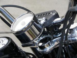 Dyna speedo relocate done !  Harley Davidson Forums