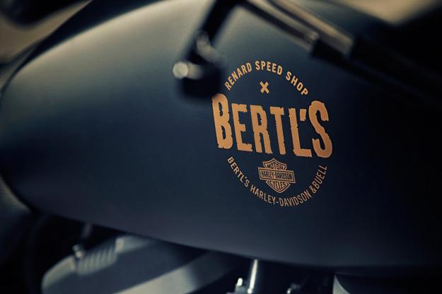 Renard Speed Shop Custom Sportster Scrambler - Harley