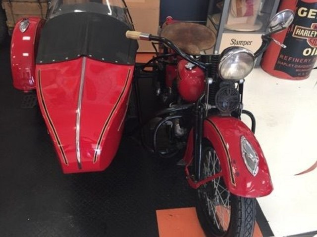 Harley-Davidson 1937 ULH 80