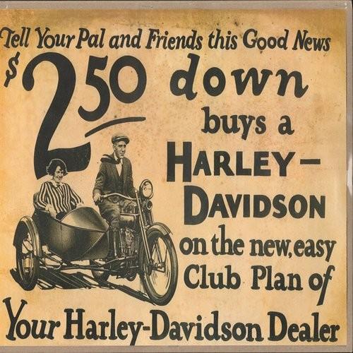 1920's Harley advertisement
